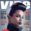 Alicia Keys Gives Us Beauty With A Bit Of Edginess For VIBE Magazine April/May 2012 Issue
