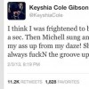 .@KeyshiaCole Keeps It 100: Singer Tweets Michelle Williams Always F'in Up Destiny's Child Groove!