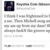 .@KeyshiaCole Keeps It 100: Singer Tweets Michelle Williams Always F'in Up Destiny's Child Groove!