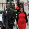 Kanye West Checks Paparazzi While Out In Paris With Kim Kardashian