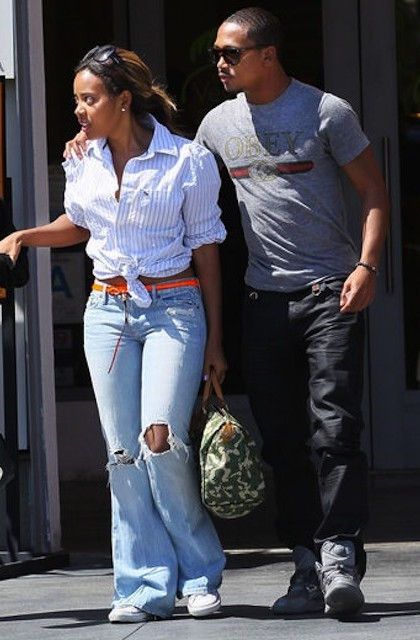 Bow Wow and Angela Simmons enjoys drinks and a massage at Stone Rose ...