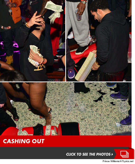 Money Ain't A Thang: Drake Unleashed $50k On Dancers At A