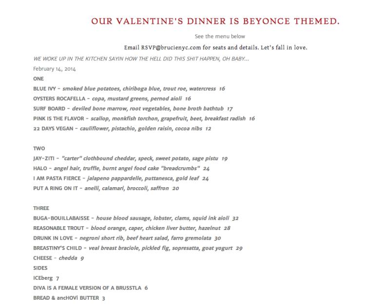 How Adorable An Italian Restaurant In Brooklyn Creates A Beyonce