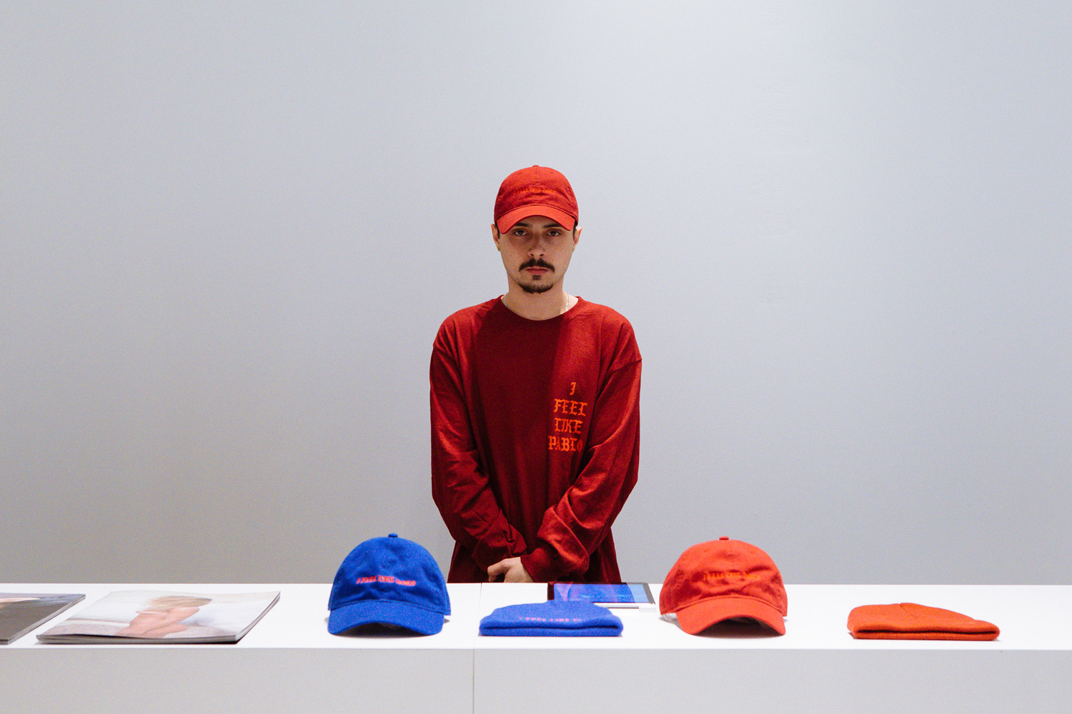 Take a look at the merchandise sold at kanye west s the for Life of pablo merch