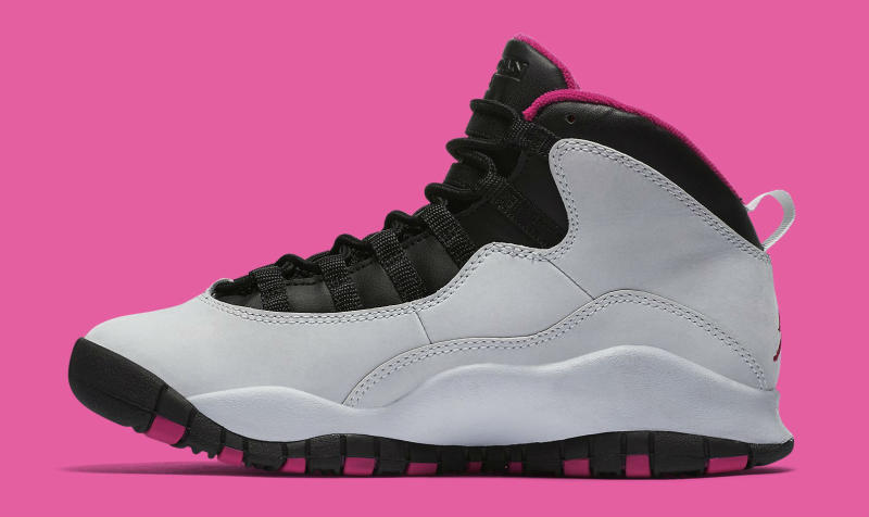 premium selection 4fb5d c84d9 FOR THE LADIES  The  Vivid Pink  Air Jordan 10
